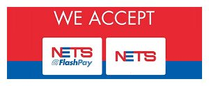 We accept NETS