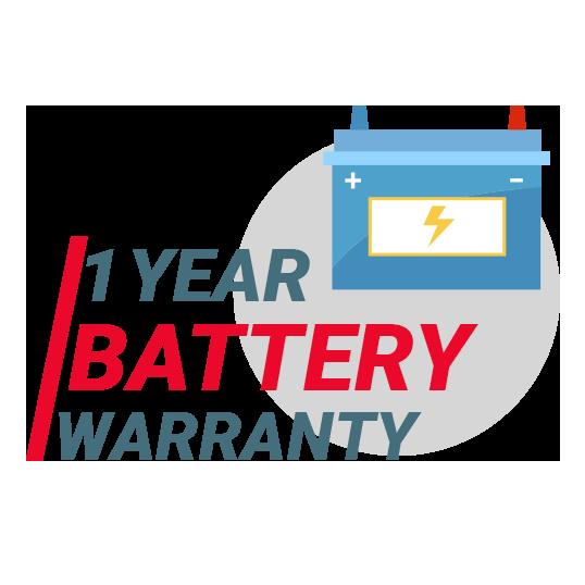 1 Year Car Battery Warranty